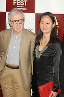 Woody Allen and Soon-Yi Previn at Film Independent's 2012 Los Angeles Film Festival Premiere of 'To Rome With Love' at Regal Cinemas L.A. LIVE Stadium 14 on June 14, 2012 in Los Angeles, California. © mpi35/MediaPunch Inc. /NORTEPHOTO.COM<br />