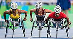 RIO DE JANEIRO - 15/09/2016 Diane Roy competes in the Women's 5000m T54 Final at the Rio 2016 Paralympic Games at Olympic Stadium. (Photo by Angela Burger/Canadian Paralympic Committee)