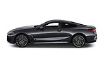 Car driver side profile view of a 2019 BMW 8 Series M Sport 2 Door Coupe