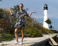 www.acepixs.com<br /> <br /> April 1 2017, Key Biscayne<br /> <br /> Johanna Konta of Great Britain at a photo shoot after she defeated Caroline Wozniacki of Denmark in the woman's final on Day 13 of the Miami Open on April 1, 2017 in Key Biscayne, Florida. <br /> <br /> By Line: Solar/ACE Pictures<br /> <br /> ACE Pictures Inc<br /> Tel: 6467670430<br /> Email: info@acepixs.com<br /> www.acepixs.com