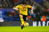 9th November 2019; King Power Stadium, Leicester, Midlands, England; English Premier League Football, Leicester City versus Arsenal; Hector Bellerin of Arsenal controls the ball - Strictly Editorial Use Only. No use with unauthorized audio, video, data, fixture lists, club/league logos or 'live' services. Online in-match use limited to 120 images, no video emulation. No use in betting, games or single club/league/player publications