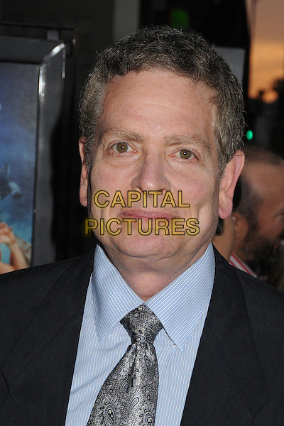 "David Zucker.Attending the ""Scary Movie 5"" Los Angeles film premiere held at the Cinerama Dome,  Hollywood, California, USA, .11th April 2013..portrait headshot blue shirt grey gray suit tie .CAP/ADM/BP.©Byron Purvis/AdMedia/Capital Pictures"