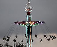 BOGOTA -COLOMBIA. 23-SEPTIEMBRE-2014. Atracciones del parque Mundo Aventura.  Mundo Aventura amusement park . Photo: VizzorImage/ Felipe Caicedo / Staff