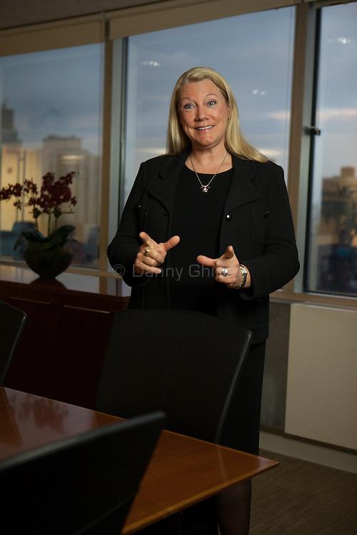 Heather Davis portrait for Asset International