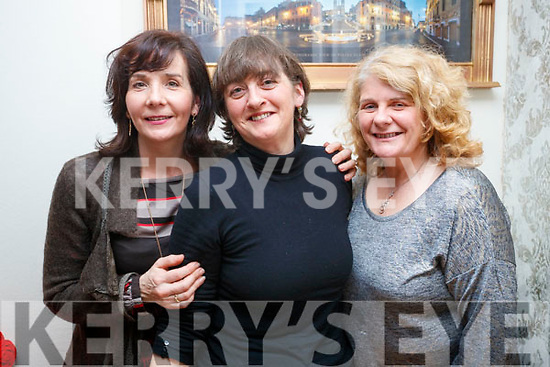Kathleen O'Donnell, who celebrated her birthday with friends Donna O'Brien (Annascaul) and Marcella Finn (Camp) at Bella Bia restaurant, Tralee, on Friday night last.
