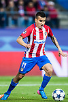 Angel Correa of Atletico de Madrid in action during their 2016-17 UEFA Champions League Round of 16 second leg match between Atletico de Madrid and Bayer 04 Leverkusen at the Estadio Vicente Calderon on 15 March 2017 in Madrid, Spain. Photo by Diego Gonzalez Souto / Power Sport Images