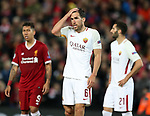 Dejected Kevin Strootman of AS Roma during the Champions League Semi Final 1st Leg match at Anfield Stadium, Liverpool. Picture date: 24th April 2018. Picture credit should read: Simon Bellis/Sportimage