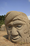 Israel, Carmel coast, Basalton Sculpture Garden of Dagan Shklovsky in Kibbutz Ein Carmel.