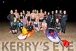 Members of  Tralee Bay Swimming Club Darkness into Light Swim in aid of Pieta House at 5am in Fenit on Saturday