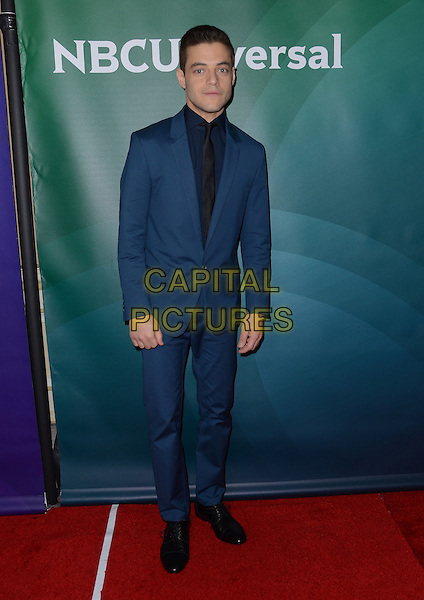 14 January  - Pasadena, Ca - Rami Malek. NBC Universal Press Tour Day 2 held at The Langham Huntington Hotel.  <br /> CAP/ADM/BT<br /> &copy;BT/ADM/Capital Pictures