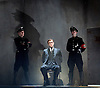 Taken at Midnight by Mark Hayhurst <br /> directed by Jonathan Church <br /> at Theatre Royal Haymarket, London, Great Britain <br /> 16th January 2015 <br /> <br /> <br /> Martin Hutson as Hans Litten <br /> <br /> <br /> Photograph by Elliott Franks <br /> Image licensed to Elliott Franks Photography Services