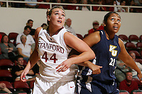 STANFORD, CA - NOVEMBER 1:  Joslyn Tinkle of the Stanford Cardinal during Stanford's 107-49 win over Vanguard on November 8, 2009 at Maples Pavilion in Stanford, California.