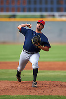 Cleveland Indians pitcher Ryan Perez (65) during an instructional league game against the Los Angeles Dodgers on October 15, 2015 at the Goodyear Ballpark Complex in Goodyear, Arizona.  (Mike Janes/Four Seam Images)