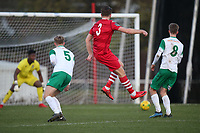 Remi Sutton of Hornchurch goes close to a goal during Hornchurch vs Bognor Regis Town, BetVictor League Premier Division Football at Hornchurch Stadium on 30th November 2019