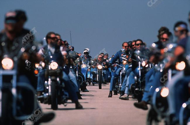 90th anniversary of Harley Davidson Milwaukee, Wisconsin, June 1993