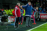 Manager of Sunderland, Sam Allardyce during the Barclays Premier League match between Swansea City and Sunderland played at the Liberty Stadium, Swansea  on  January the 13th 2016