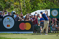 Rory McIlroy (NIR) watches his tee shot on 7 during round 1 of the Arnold Palmer Invitational at Bay Hill Golf Club, Bay Hill, Florida. 3/7/2019.<br /> Picture: Golffile | Ken Murray<br /> <br /> <br /> All photo usage must carry mandatory copyright credit (© Golffile | Ken Murray)