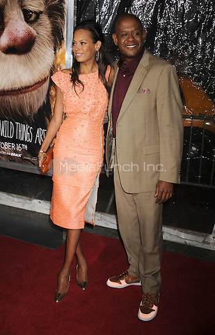 Keisha Whitaker and Forest Whitaker attend the NY film premiere of Where The Wild Things Are at Alice Tully Hall  in New York City. October 13, 2009. Credit: Dennis Van Tine/MediaPunch