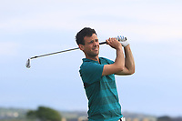 Paul Coughlan (Castleknock) on the 15th tee during Round 3 of the East of Ireland Amateur Open Championship 2018 at Co. Louth Golf Club, Baltray, Co. Louth on Monday 4th June 2018.<br /> Picture:  Thos Caffrey / Golffile<br /> <br /> All photo usage must carry mandatory copyright credit (&copy; Golffile | Thos Caffrey
