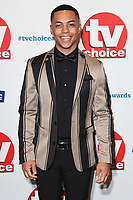 LONDON, UK. September 10, 2018: Malique Thompson-Dwyer at the TV Choice Awards 2018 at the Dorchester Hotel, London.<br /> Picture: Steve Vas/Featureflash