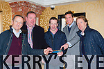 Racing legends Tony Martin, Paddy Wilmott, Jim Culloty, Pat Healy and Charlie Swann looking for tips at the Cheltenham Preview night in the Killarney Plaza Hotel on Thursday night