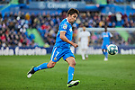 Jaime Mata of Getafe FC during La Liga match between Getafe CF and Real Madrid at Coliseum Alfonso Perez in Getafe, Spain. January 04, 2020. (ALTERPHOTOS/A. Perez Meca)