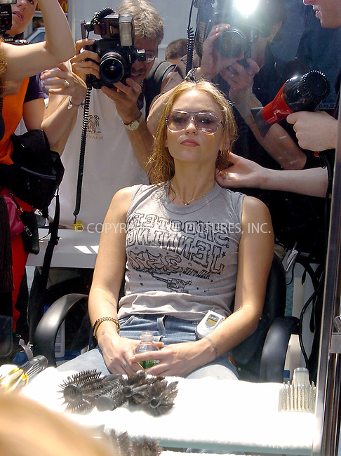 Drea de Matteo celebrating Head & Shoulders Shampoo 40th Anniversary. Times Square, New York, July 8, 2004. Please byline: AJ SOKALNER/ACEPIXS.COM   .. *** ***..Ace Pictures, Inc:  ..Contact: Alecsey Boldeskul (646) 267-6913 ..Philip Vaughan (646) 769-0430..e-mail: info@acepixs.com