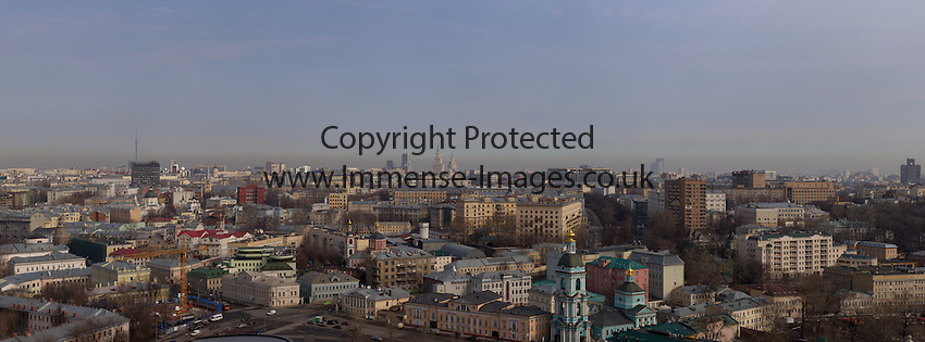 Moscow Cityscape by day