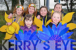 Taking part in the Listowel parade were  Jessica Heaphy & Millie Sheehan in front. Back : Isabelle Moyler, Molly McElligott, Kerriemai Costello & Ciara Sweeney.