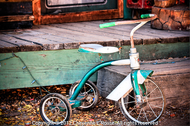 Vintage Tricycle - New Mexico