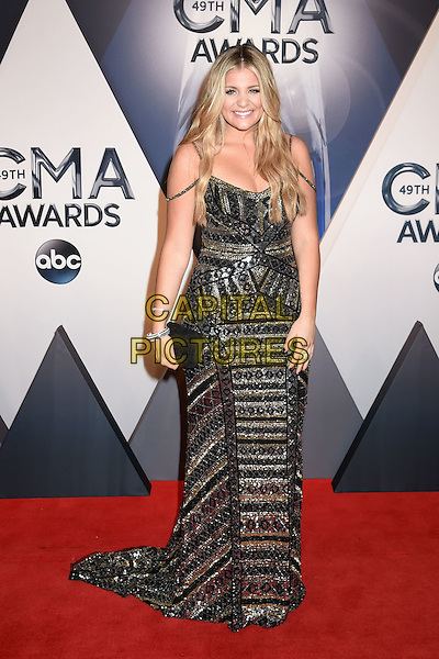 4 November 2015 - Nashville, Tennessee - Lauren Alaina. 49th CMA Awards, Country Music's Biggest Night, held at Bridgestone Arena. <br /> CAP/ADM/LF<br /> &copy;LF/ADM/Capital Pictures