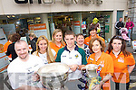 1ST ANNIVERSARY: CH Chemist celebrated their 1st anniversary of Fuji partnership last Friday and attending the celebrations were l-r: Marcus Fitzgerald, Thessa Koster, Muireann Kirby, Killian Young (Kerry Footballer), Rosalyn O'Brien, Jodie Sheehy, Kay Lyons and Laura Walsh.   Copyright Kerry's Eye 2008