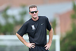 01 September 2013: Duke assistant coach Steve Springthorpe. The Duke University Blue Devils played the University of New Mexico Lobos at Fetzer Field in Chapel Hill, NC in a 2013 NCAA Division I Women's Soccer match. Duke won the game 1-0.