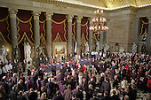 Washington, DC - January 20, 2009 -- An overall view of the luncheon in Statuary Hall at the US capitol for United States President Barack Obama. Obama was sworn in as the 44th US President in Washington, DC, on Tuesday, January 20, 2009..Credit: Harry Hamburg - Pool via CNP