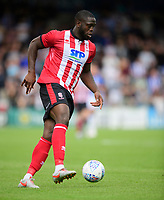 Lincoln City's John Akinde<br /> <br /> Photographer Chris Vaughan/CameraSport<br /> <br /> Football Pre-Season Friendly - Lincoln City v Sheffield Wednesday - Saturday July 13th 2019 - Sincil Bank - Lincoln<br /> <br /> World Copyright © 2019 CameraSport. All rights reserved. 43 Linden Ave. Countesthorpe. Leicester. England. LE8 5PG - Tel: +44 (0) 116 277 4147 - admin@camerasport.com - www.camerasport.com