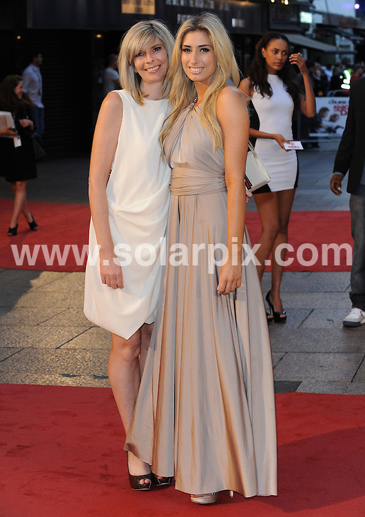 **ALL ROUND PICTURES FROM SOLARPIX.COM**.**WORLDWIDE SYNDICATION RIGHTS**.UK Premiere of Knight and Day. Held at the Odeon, Leicester Square, London, UK. 22 July 2010..This pic: Stacey Solomon and Mother..JOB REF: 11740 SSD     DATE: 22_07_2010.**MUST CREDIT SOLARPIX.COM OR DOUBLE FEE WILL BE CHARGED**.**MUST NOTIFY SOLARPIX OF ONLINE USAGE**.**CALL US ON: +34 952 811 768 or LOW RATE FROM UK 0844 617 7637**