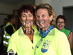 Joan McCoy and Laura Callaghan who took part in the Seamie Weldon 5K Run in Ardee. Photo:Colin Bell/pressphotos.ie