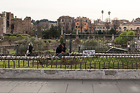 Via dei Fori Imperiali.<br />