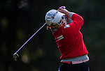 Ha-Na Jang of Korea in action during the Hyundai China Ladies Open 2014 at World Cup Course in Mission Hills Shenzhen on December 13 2014, in Shenzhen, China. Photo by Xaume Olleros / Power Sport Images