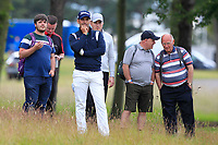 Lee Slattery (ENG) on the 10th during Round 3 of the Aberdeen Standard Investments Scottish Open 2019 at The Renaissance Club, North Berwick, Scotland on Saturday 13th July 2019.<br /> Picture:  Thos Caffrey / Golffile<br /> <br /> All photos usage must carry mandatory copyright credit (© Golffile | Thos Caffrey)
