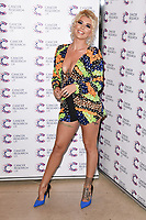 Olivia Buckland<br /> arriving at James Ingham's Jog On To Cancer, in aid of Cancer Research UK at The Roof Gardens in Kensington, London. <br /> <br /> <br /> ©Ash Knotek  D3248  12/04/2017