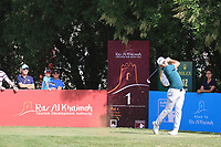 Liam Johnston (SCO) during the final round of the Ras Al Khaimah Challenge Tour Grand Final played at Al Hamra Golf Club, Ras Al Khaimah, UAE. 03/11/2018<br /> Picture: Golffile | Phil Inglis<br /> <br /> All photo usage must carry mandatory copyright credit (&copy; Golffile | Phil Inglis)