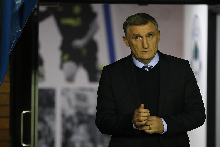 Blackburn Rovers' Manager Tony Mowbray<br /> <br /> Photographer Rachel Holborn/CameraSport<br /> <br /> The EFL Sky Bet Championship - Wigan Athletic v Blackburn Rovers - Wednesday 28th November 2018 - DW Stadium - Wigan<br /> <br /> World Copyright © 2018 CameraSport. All rights reserved. 43 Linden Ave. Countesthorpe. Leicester. England. LE8 5PG - Tel: +44 (0) 116 277 4147 - admin@camerasport.com - www.camerasport.com