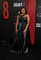NEW YORK, NY - June 5: Mindy Kaling attends 'Ocean's 8' World Premiere at Alice Tully Hall on June 5, 2018 in New York City. <br /> CAP/MPI/JP<br /> &copy;JP/MPI/Capital Pictures