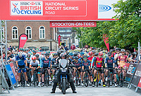 Picture by Allan McKenzie/SWpix.com - 14/07/17 - Cycling - HSBC UK British Cycling National Circuit Series - Velo29 Altura Criterium - Stockton, England - Stockton national circuit criterium prepares to start,