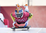 Maria Marinela Mazilu (ROU). Skeleton training. Alpensia sliding centrePyeongchang2018 winter Olympics. Alpensia. Republic of Korea. 13/02/2018. ~ MANDATORY CREDIT Garry Bowden/SIPPA - NO UNAUTHORISED USE - +44 7837 394578