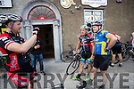 Riders arriving at the Tour De Munster cycle in Tralee on Friday evening last