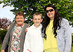 Nathan Fox with mammy Martina and Nannie Kathleen during Confirmation for Scoil Sporaid Naoimh Laytown on Thursday 21st May 2015.<br /> Picture:  Thos Caffrey / www.newsfile.ie