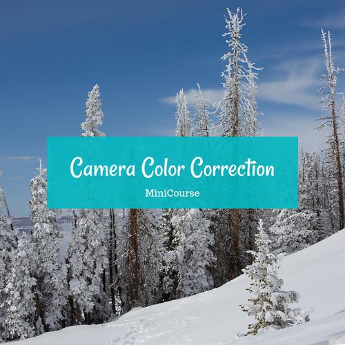 Camera Color Correction MiniCourse