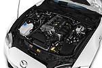 Car Stock 2017 Mazda MX-5-RF Club 2 Door Targa Engine  high angle detail view